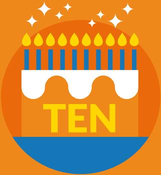 TEN IS 10
